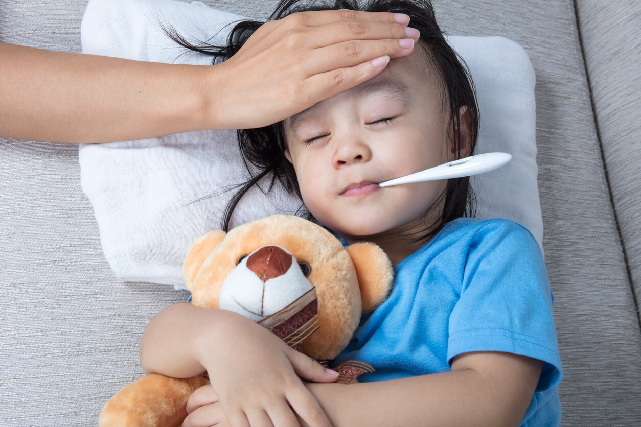 How to manage your child's fever